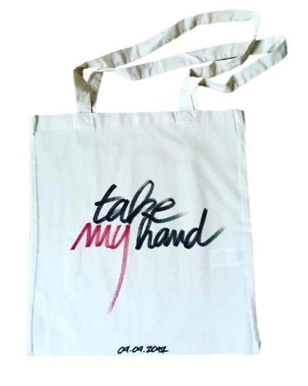 TOTEBAG TAKE MY HAND
